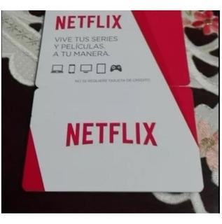 Tarjeta Regalo De Netflix/ 33 Días