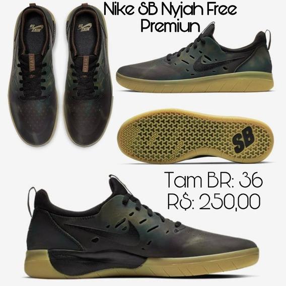 Tenis Nike Sb Nyjah Free Premium