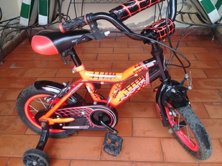 Bicicleta Rodado 12 Spiderman