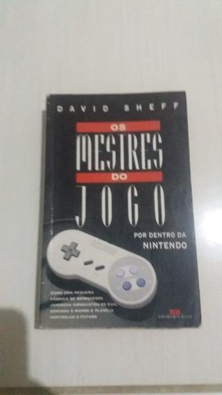 Livro Os Mestres Do Jogo - Por Dentro Da Nintendo