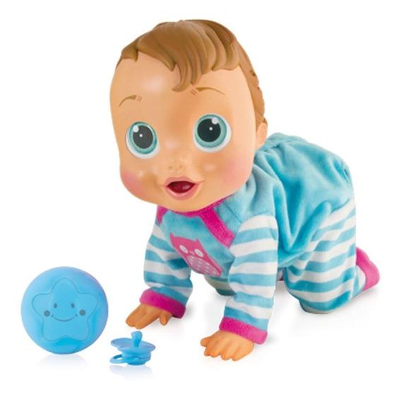 Boneca Interativa Baby Wow Azul Br582 Multikids