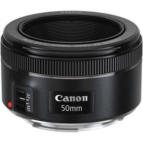 Lente Canon Ef 50mm F/1.8 Stm Auto-foco Muito Nova