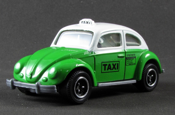G3 Matchbox Fusca Volkswagen Beetle Taxi 08 City Action 1/58