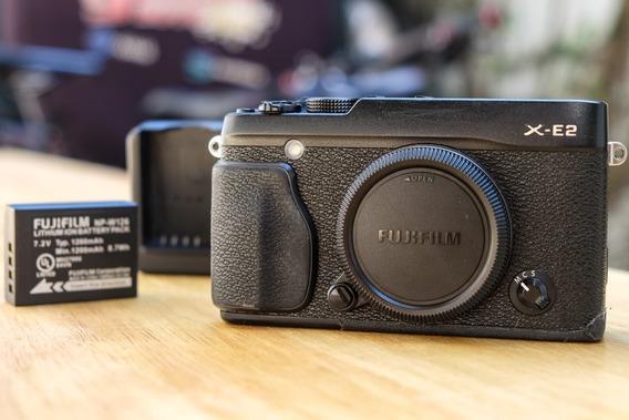 Camêra Fuji Xe2 Preta - Camêra Fujifilm X-e2