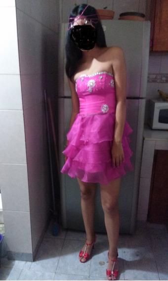 Vestido Rosado 15 Años