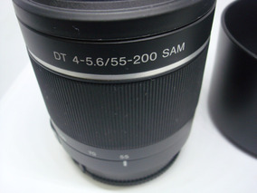 Lente Original Sony Dt 4 - 5 .6 /55 - 200 Sam Original