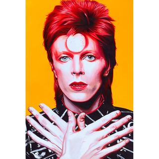 Placa - Decorativa - Grande - David Bowie - Música - (gv268)