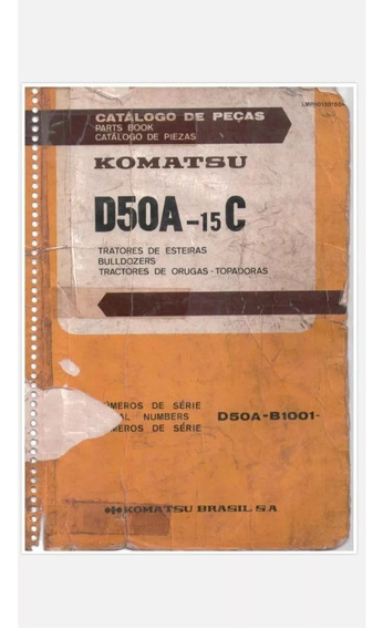Catálogo De Peças Komatsu D50 (encadernado)