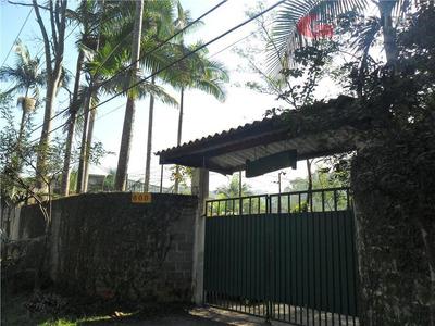 Chácara Residencial À Venda, Cidade Recreio Da Borda Do Campo, Santo André. - Ch0022