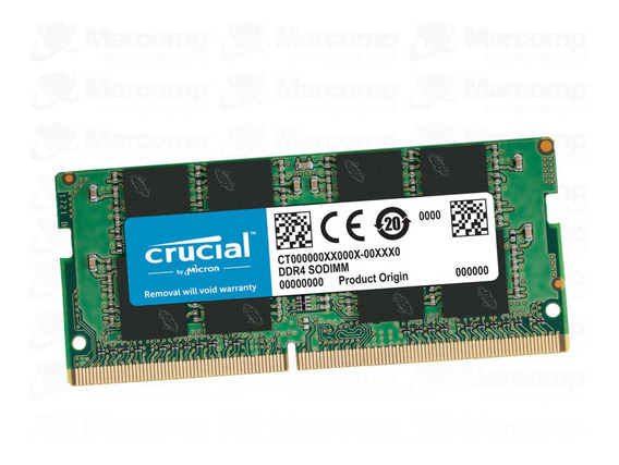 Memoria Sodimm Crucial Ddr4 8gb 2666mhz Notebook Ct8g4sfs826