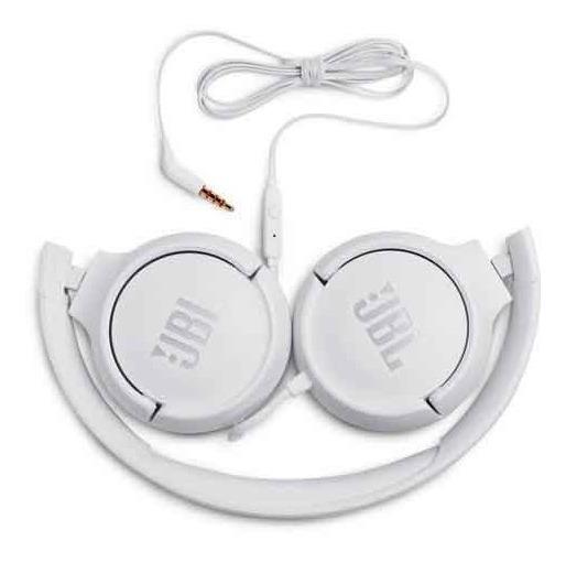 Fone De Ouvido Jbl T500 Headphone Branco - Jblt500wht
