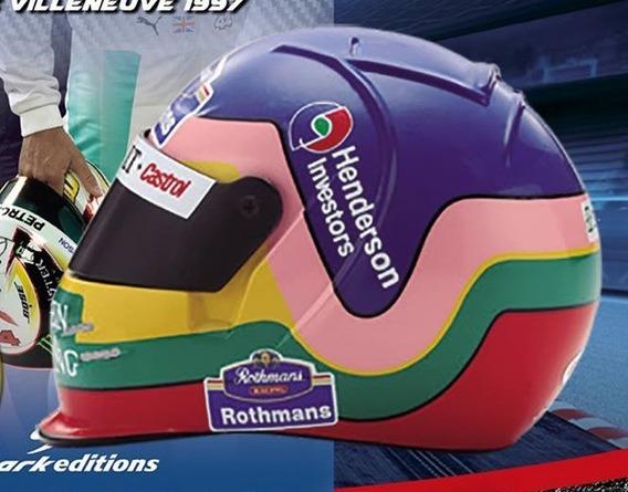 Coleccion Cascos Grandes Premio N°46 Jacques Villeneuve