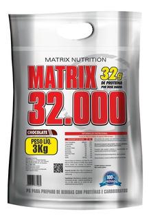 Hipercalórico Matrix 32.000 - Matrix- 3kg-envio Em 24 Horas