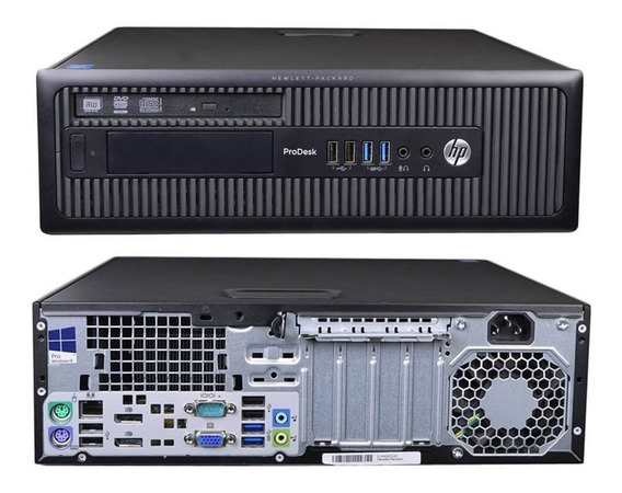 Cpu Desktop Hp Elitedesk 600 G1 8gb Hd 500 Intel Core I5 4ªg