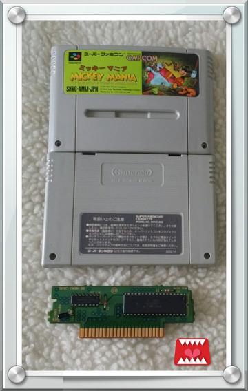 Cartucho Original Mickey Mania Super Famicom/ Super Nintendo