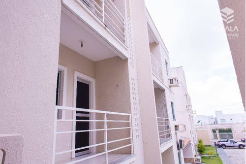 Apartamento Com 3 Quartos À Venda, 59 M², 2 Suítes, 1 Vaga, Novo, Financia  - Lagoa Redonda - Fortaleza/ce - Ap0558