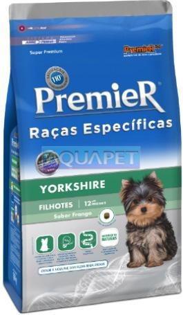 Ração Premier Raças Específicas Yorkshire 1kg Cães Filhote