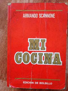Libro Rojo Armando Scannone Mi Cocina Edición De Bolsillo