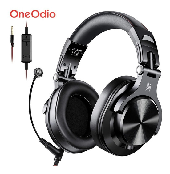 Headset Oneodio A71 Fone P2 Com Microfone Gamer & Dj