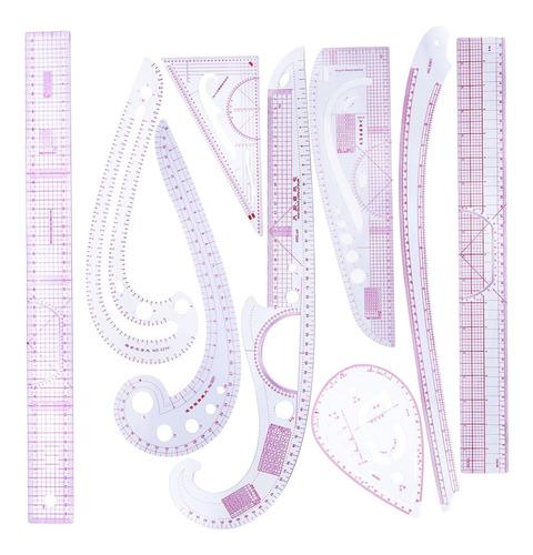Imagen 1 de 10 de 9 Piezas De Diseño De Costura Francesa Curvada En Línea