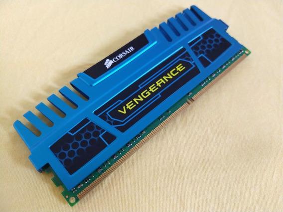 Memória Corsair Vengeance 4 Gb Ddr3 1600 Mhz (azuis)