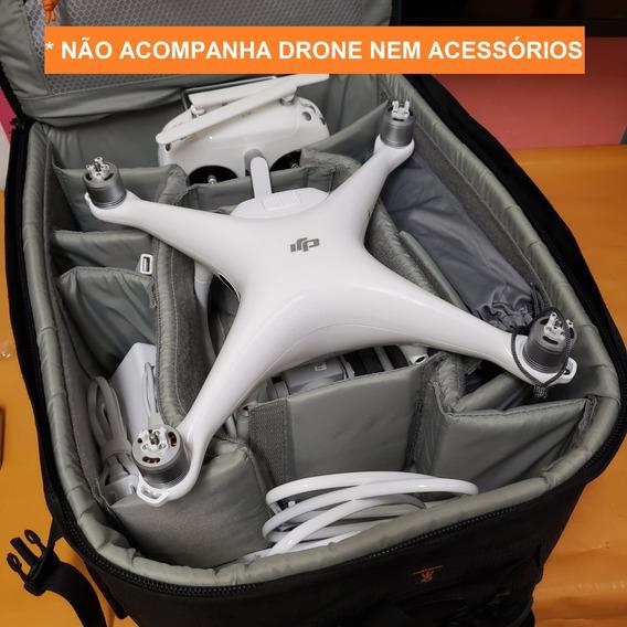 Mochila Para Drones Dji Phantom Ou Camera Fotográfica Rodas