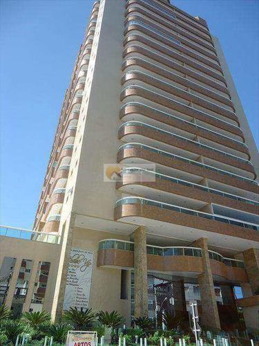 Apartamento Com 3 Dorms, Caiçara, Praia Grande - R$ 800.000,00, 142,89m² - Codigo: 96 - V96