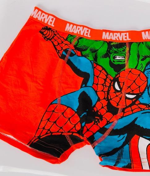 Boxers Avengers Spiderman Captain America Hulk Comics Adulto