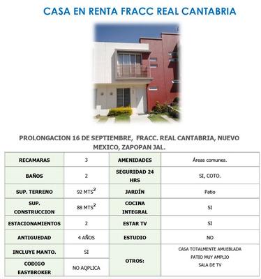 Casa En Renta Real Cantabria 2