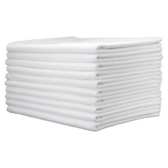 40 Saco Alvejado Pano Chão Branco P/ Limpeza Preço Atacado