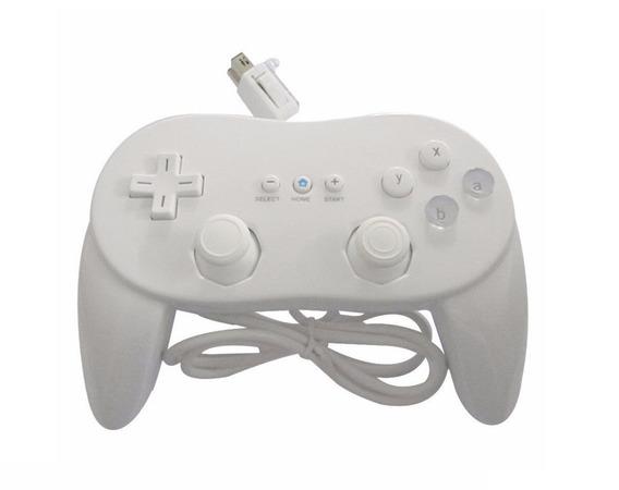 2 Controles Classic Controller Pro Para Nintendo Wii