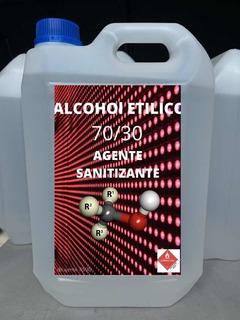 Alcohol Liquido 70% Sanitizante Desinfectante 5 Litros