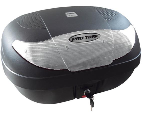 Bauleto Para Moto 45 Litros Bp09 Pro Tork Bau Caixa +suporte
