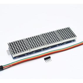Display Modulo Matriz De Led 8x32 Com Chip Max7219 Arduino