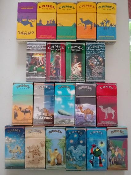 Marquillas Camel X10 Vacias Distintas Colecciones