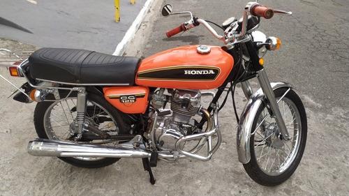 Imagem 1 de 6 de Honda Cg 125 Bolinha