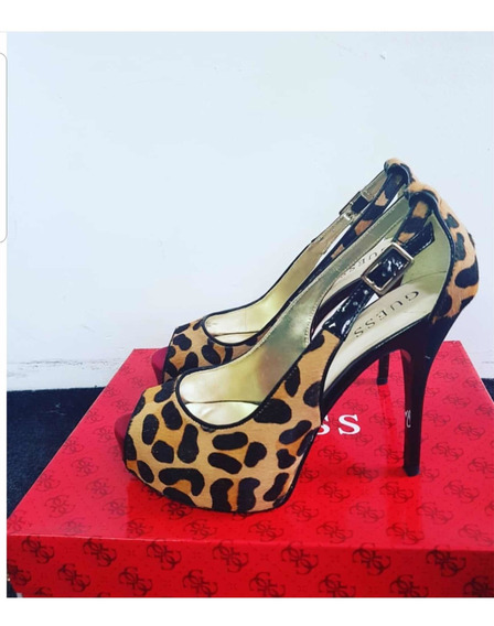 Zapatos Animal Print Marca Guess