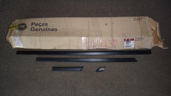 Kit 4 Peças Frisos Lateral Direita Fiat Uno 95/11 Originais