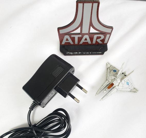Fonte 9v 1a Para Atari 2600 Nacional E Importado Bi-volt