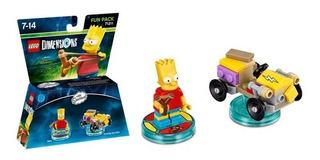 Lego Dimensions Fun Pack Bart Simpsons