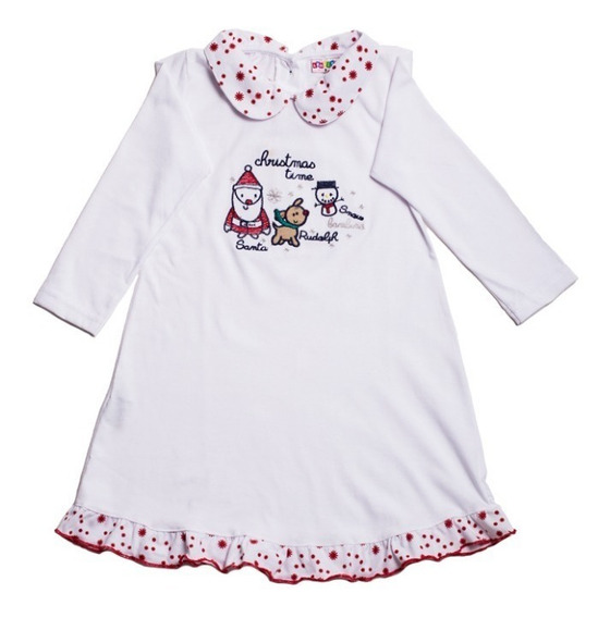 Duo Pijama Para Niña Bambino Navidad