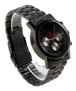 Reloj Billionz Metal Black & Red