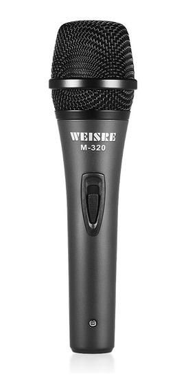Microfone De Mão Profissional Dinâmico-bobina De Voz