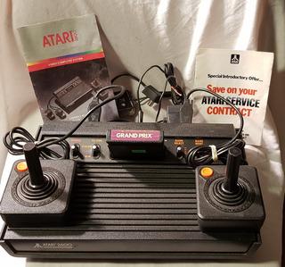 Consola Atari Cx-2600 Cr C/2 Controles Y Manual/local