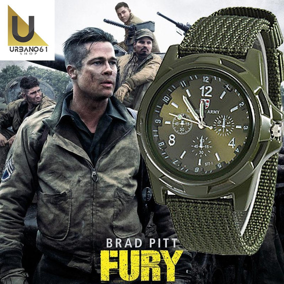 Relógio Masculino, Linha Brad Pitt Fury. Top!