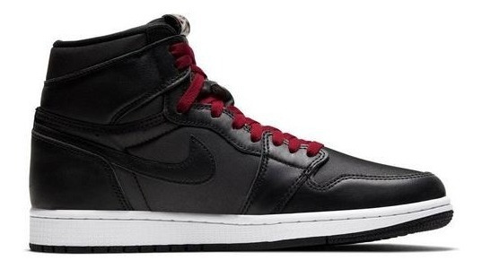 Jordan 1 Retro High Og Black Satin Importacion Mariscal