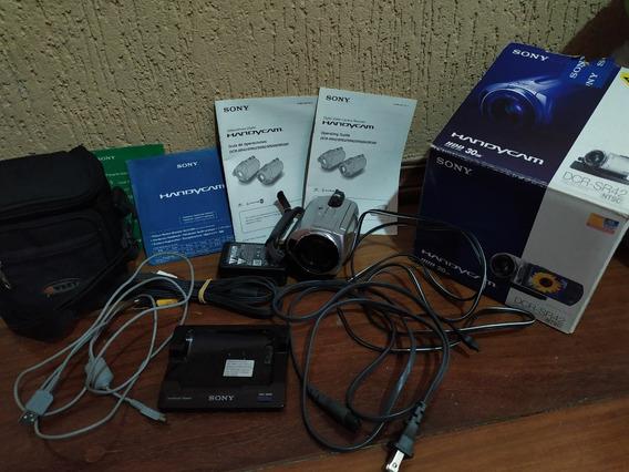 Filmadora Sony Handycam Dcr-sr42 Zom Óptico 40x Hd 30gb