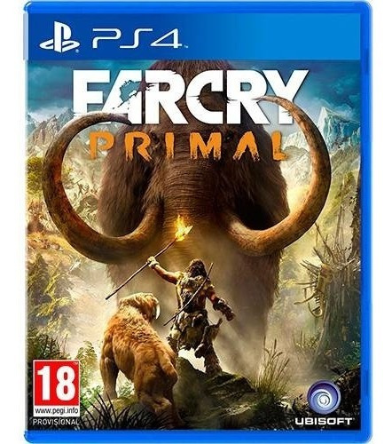 Far Cry Primal - Ps4 - Mídia Física - Novo