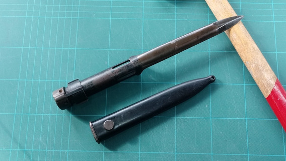 Sable Bayoneta Fal Tubular Ejército Argentino Exelente