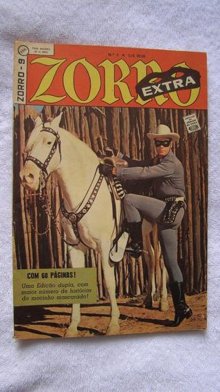 Zorro ( Extra ) Nº 9 - Emboscada Da Caravana - 1963 - Ebal